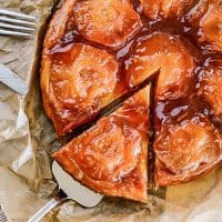Vegan Apple Tarte Tatin