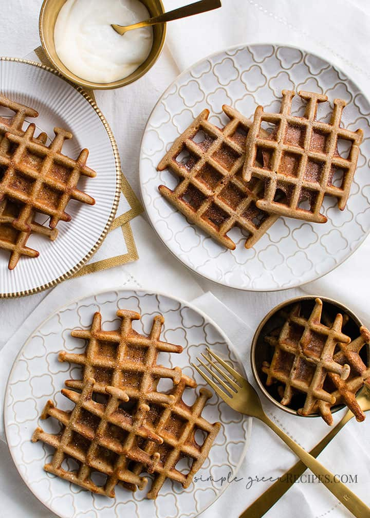 Easy Gluten-free Vegan Buckwheat Waffles
