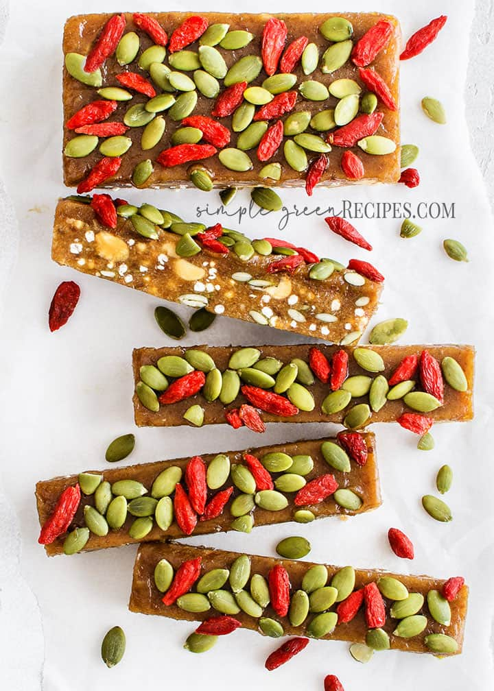 Raw Seedy Energy Bars