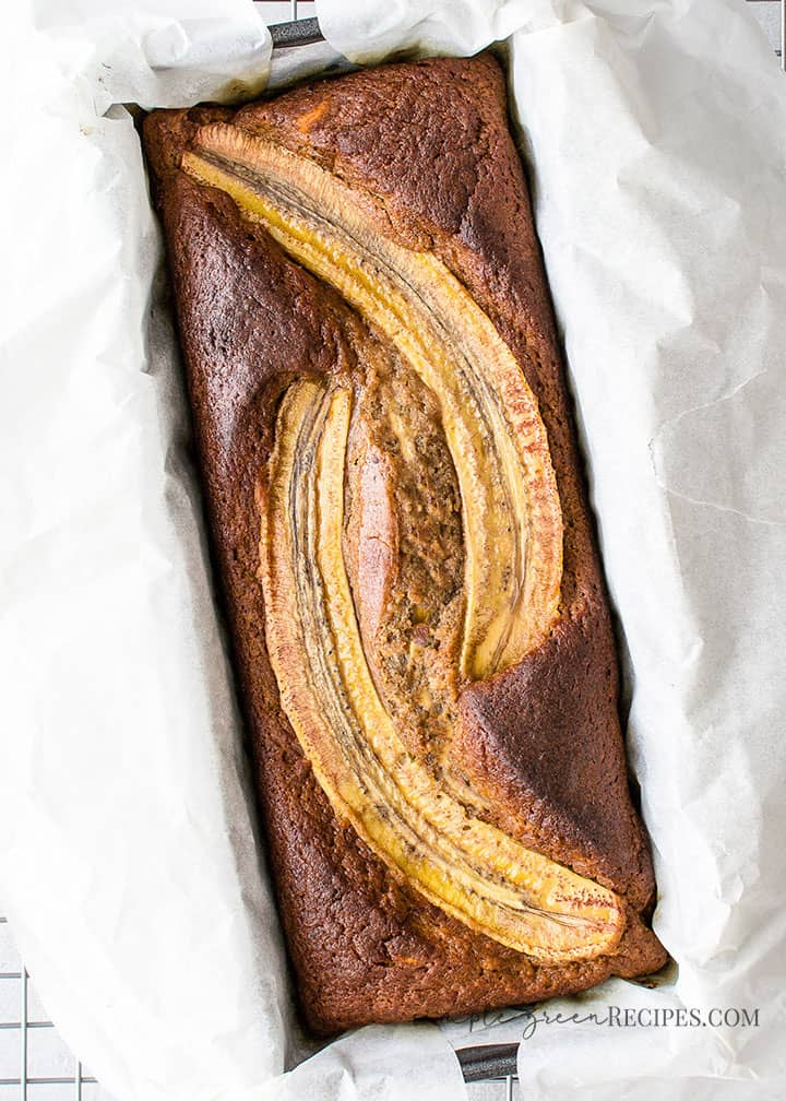 Vegan Gluten-free Caramel Banana Bread
