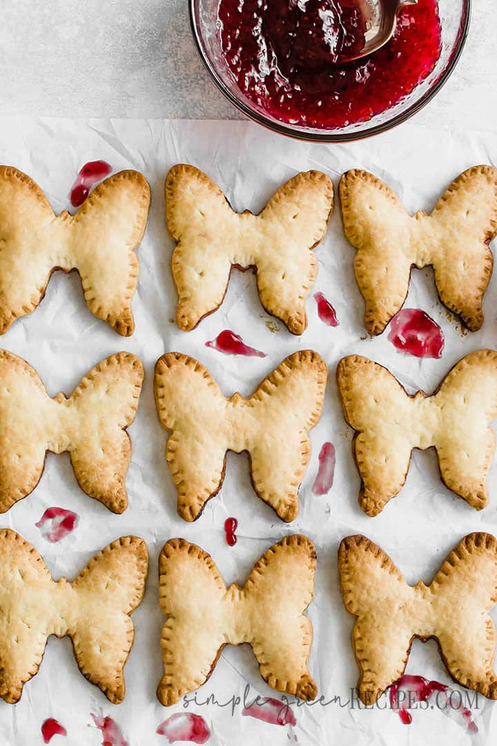 Vegan Raspberry Hand Pie