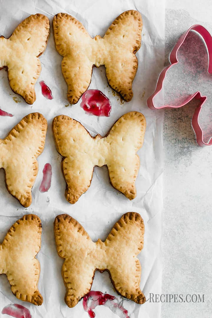Vegan Raspberry Hand Pies Recipe