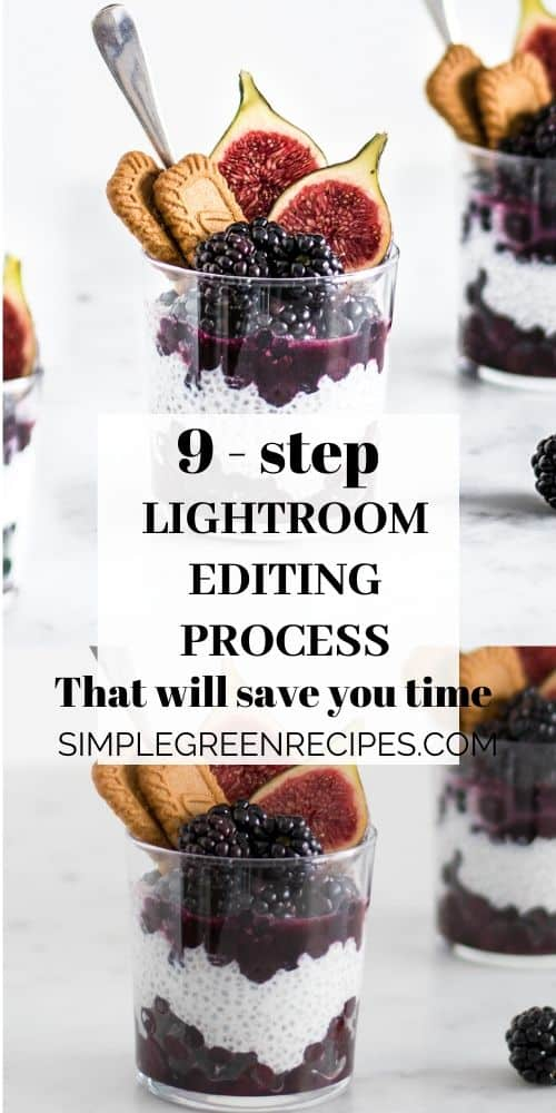 9-step Lightroom Editing Process for Food Photography