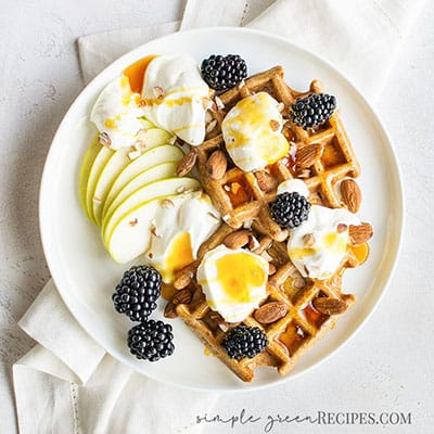 Delicious Vegan Gluten-Free Waffles