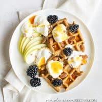 Easy Vegan Gluten-Free Waffles