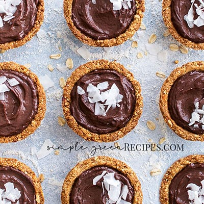 Gluten-free Chocolate Mousse Oat Cups