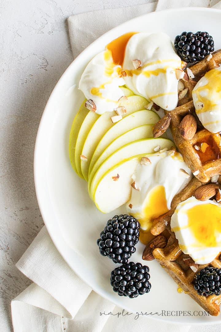 Quick Vegan Gluten-Free Waffles
