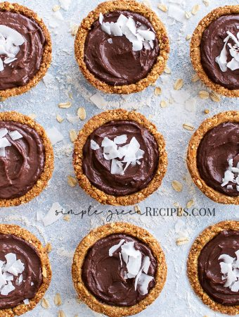 Vegan Gluten-free Chocolate Mousse Oat Cups