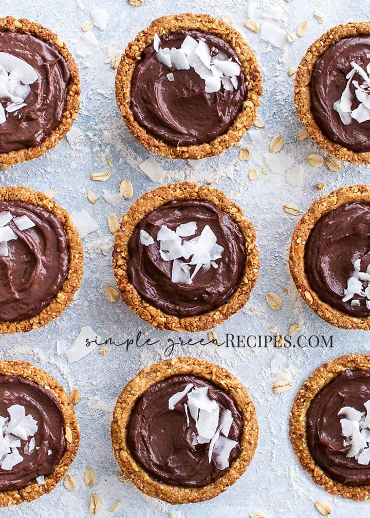 Vegan Gluten-free Chocolate Mousse Oat Cups