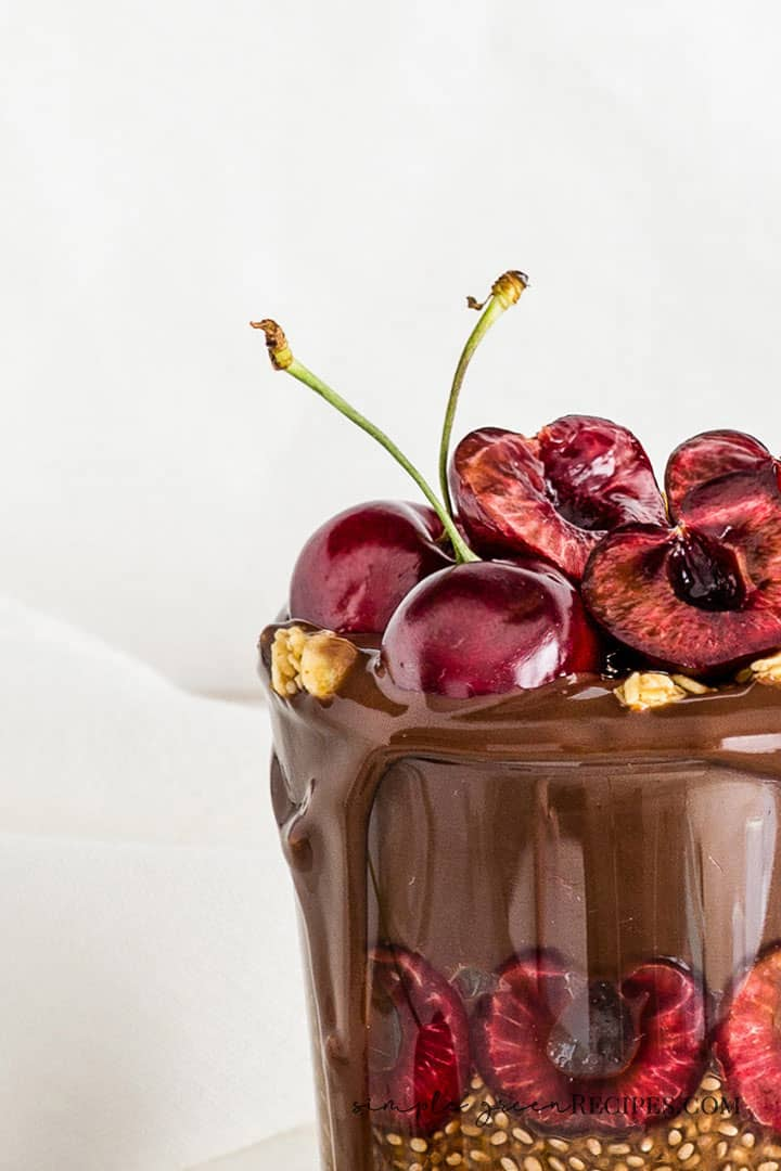 Delicious Chocolate Chia Pudding