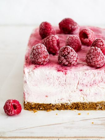 Vegan Raspberry Coconut Yogurt Ice Cream