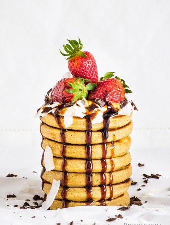 Vegan Gluten-free Oat Banana Pancakes