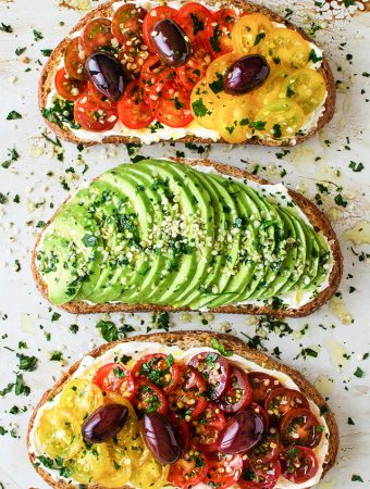 Vegan Breakfast Toasts 2 Ways