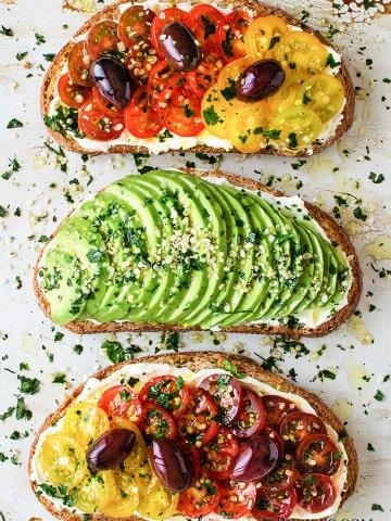 Vegan Breakfast Toasts 2 Ways