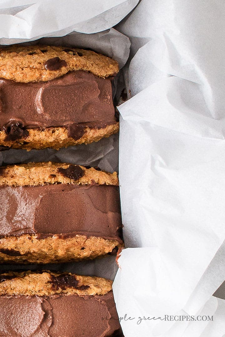 Vegan Chocolate Ice Cream Sandwiches Recipe