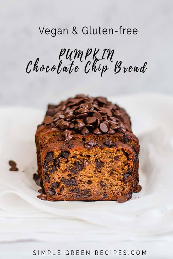 Vegan & Gluten-free Pumpkin Chocolate Bread