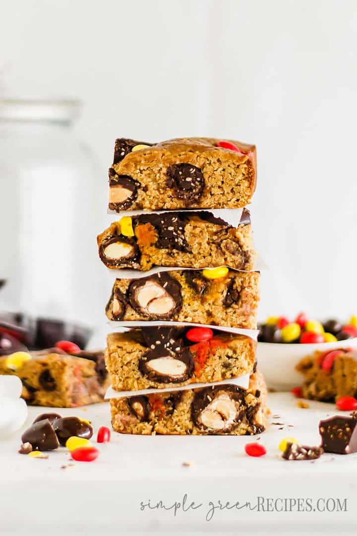 Easy Vegan Candy Cookie Bars