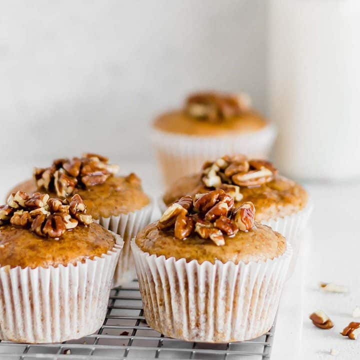 Egg-free Banana Nut Muffins