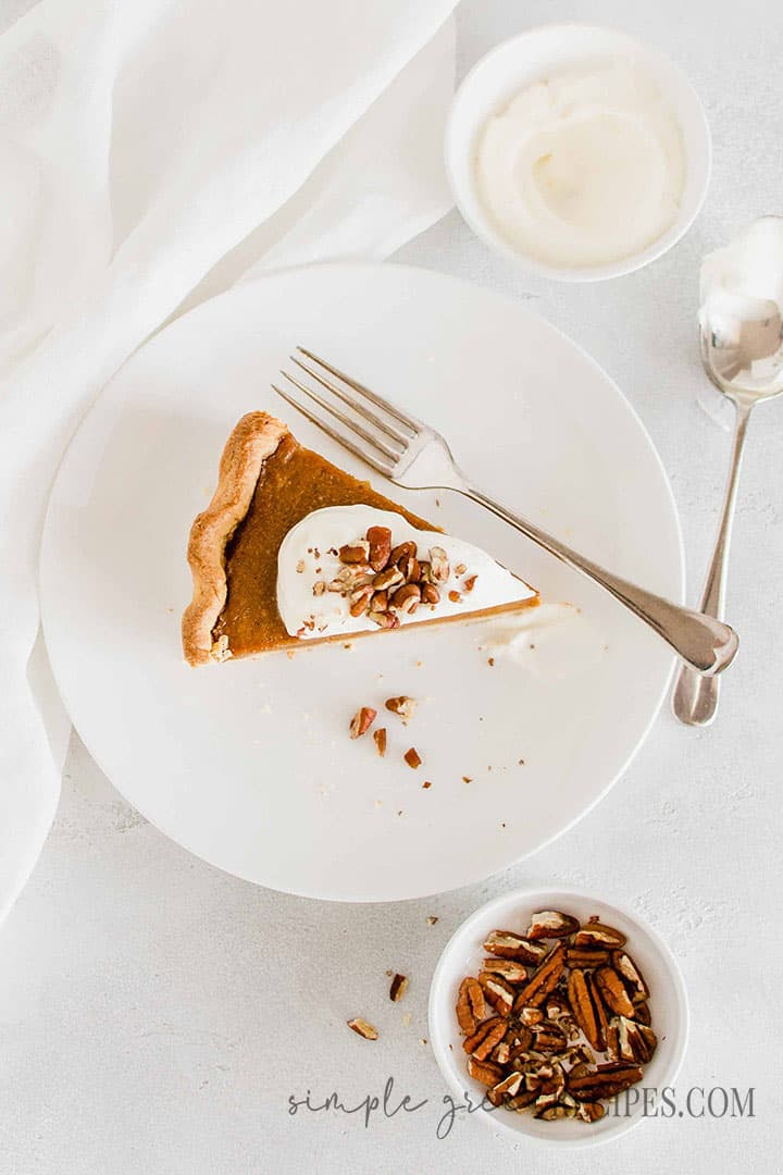 Best Glutenfree Pumpkin Pie