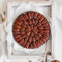Easy Vegan Pecan Pie