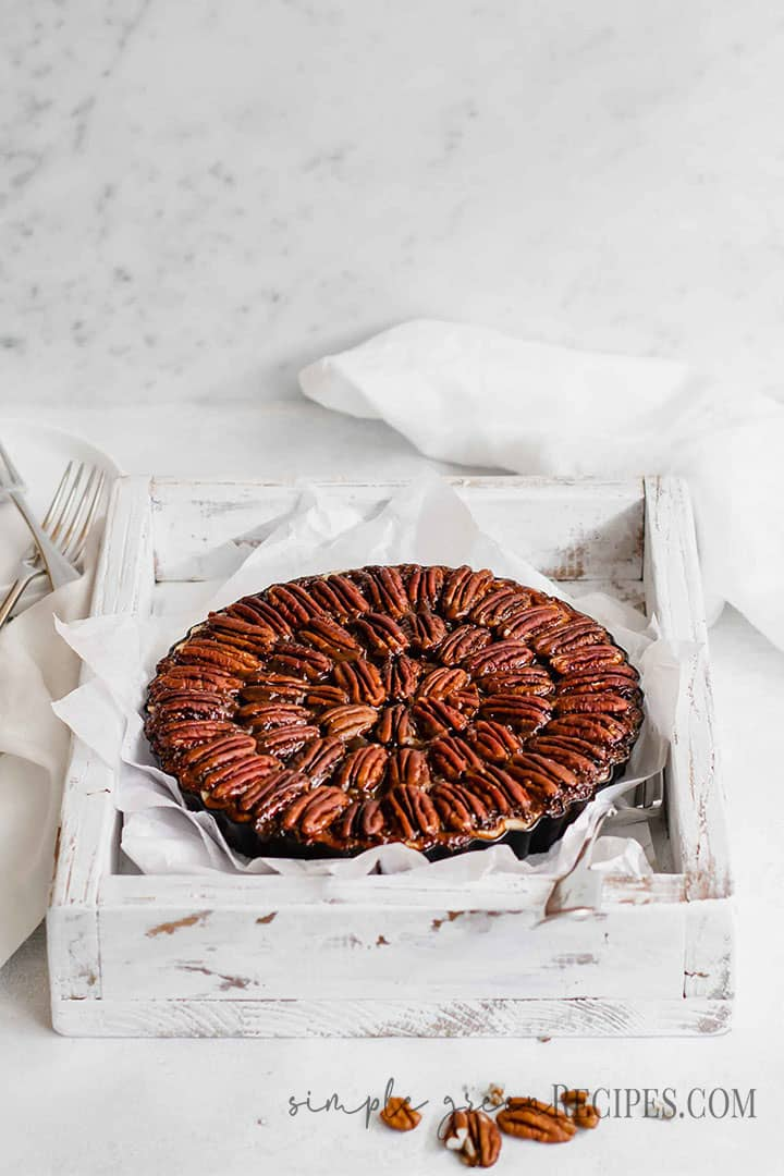Pecan Pie with Maple Syrup