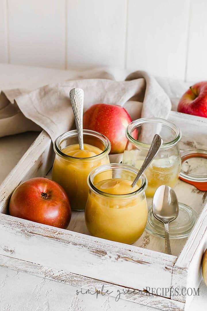 3 ingredients Applesauce