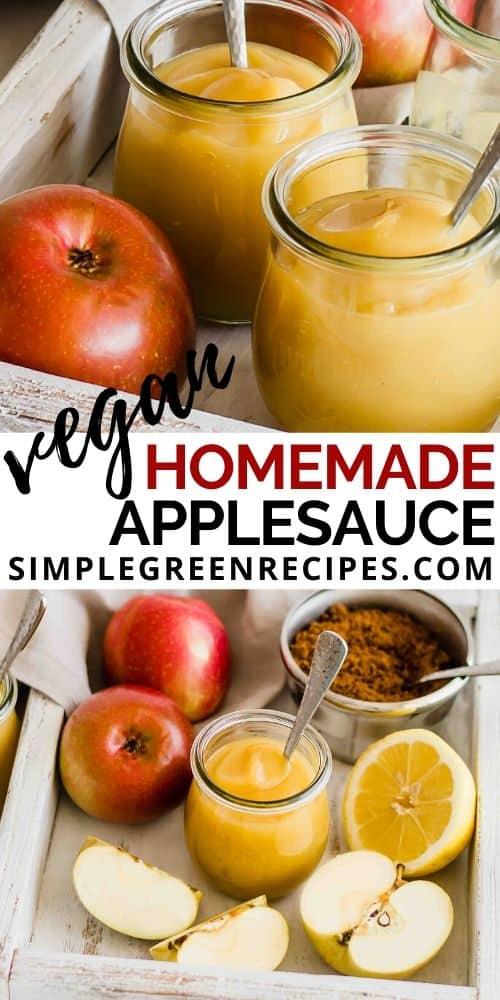 Gluten Free Homemade Applesauce
