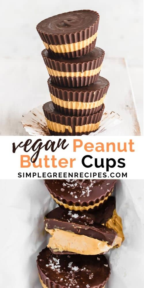 Homemade Vegan Peanut Butter Cups Recipe
