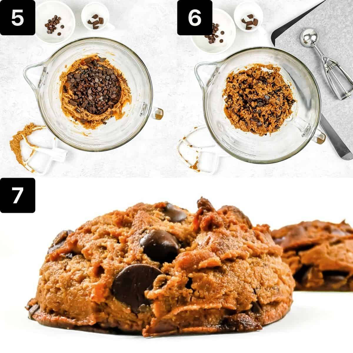 step by step to make the peanut butter cookies