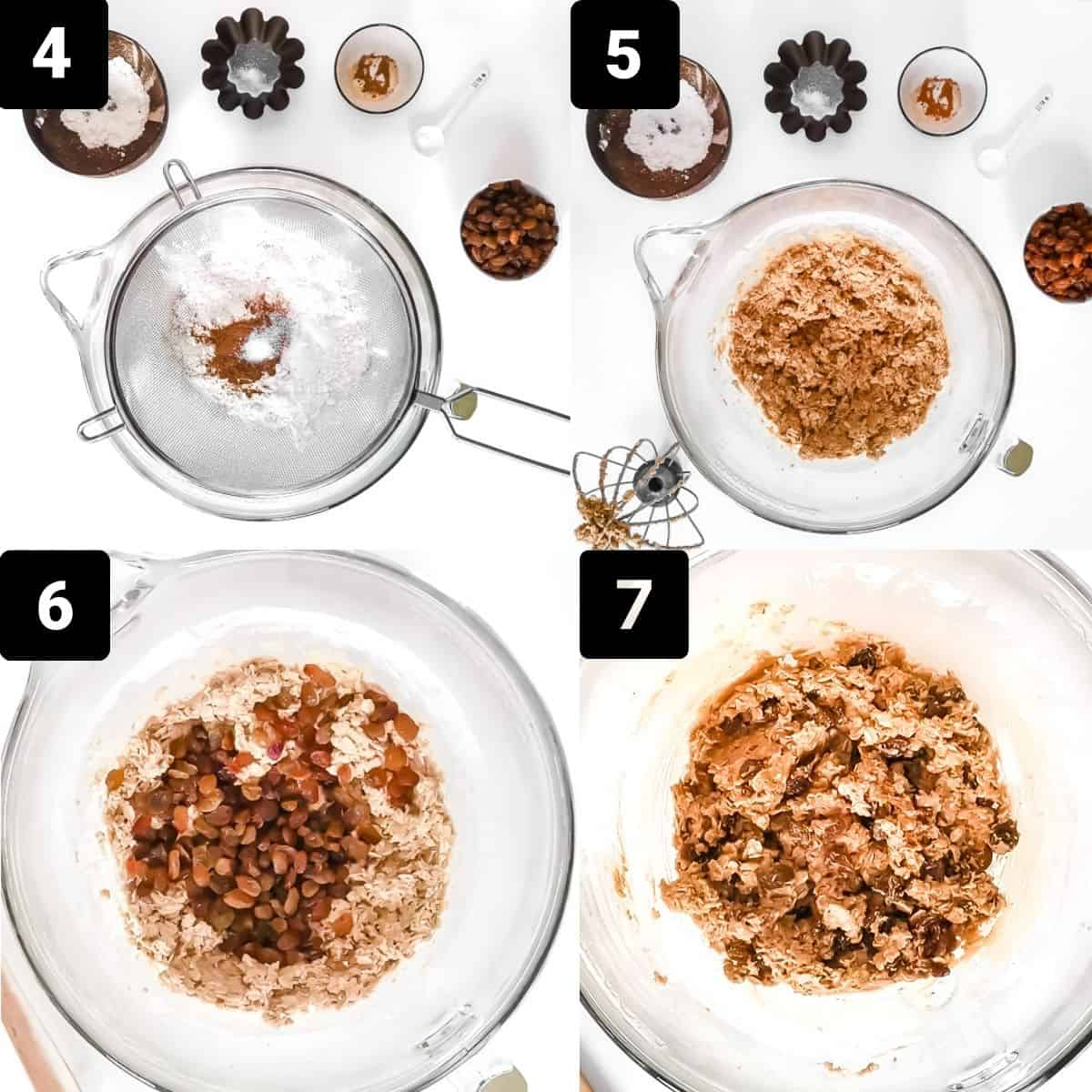 Step by step2 for the chocolate chip cookies